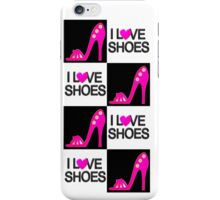 PASSIONATE PINK I LOVE SHOES DESIGN iPhone Case/Skin