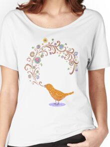 Birdsong Women's Relaxed Fit T-Shirt