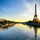 Paris Sunrise by Michael Abid