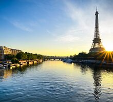 Paris Sunrise by Michael Abid