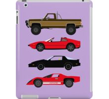 The Car's The Star: Glen A Larson iPad Case/Skin
