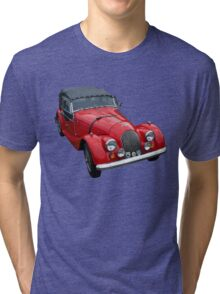 Vintage British Sports Car Tri-blend T-Shirt