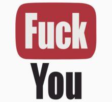 Tube Fuck You Logo T-Shirt
