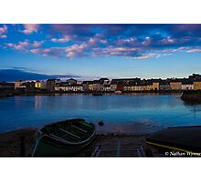 The Long Walk, Galway City Photographic Print