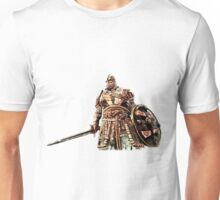 For Honor Cartoonlike Game Artwork - Viking Warrior with sword and shield red Unisex T-Shirt