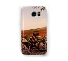View from Cambria Winery, Santa Maria, CA Samsung Galaxy Case/Skin