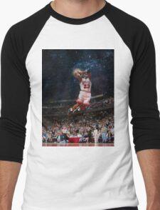 Michael Jordan Men's Baseball ¾ T-Shirt