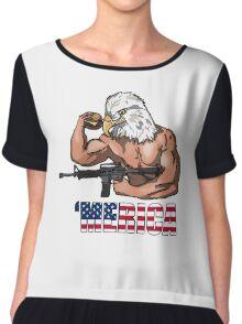 America Chiffon Top