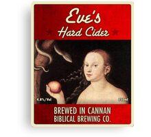 Bible Beer #4 Canvas Print