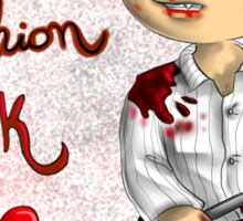 Hannibal - New fashion bloody look Sticker