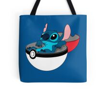 Stitch Pokeball Tote Bag