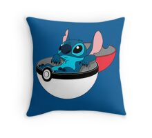 Stitch Pokeball Throw Pillow
