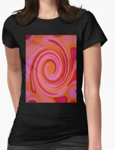 Twirl Womens Fitted T-Shirt