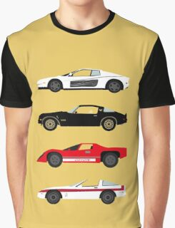 The Car's The Star: Sports Cars Graphic T-Shirt