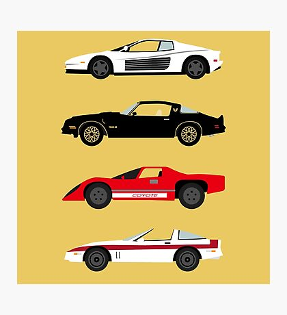 The Car's The Star: Sports Cars Photographic Print