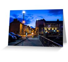 The Harbour, Galway City Greeting Card