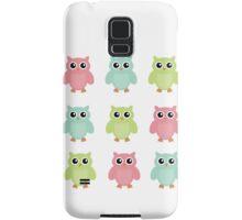 Colourfull Owls Samsung Galaxy Case/Skin