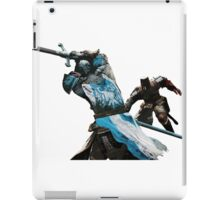 For Honor Cartoonlike Game Artwork - Legions/Knight Fight with two handed swords iPad Case/Skin
