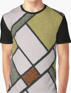 Square Cloth Texture  Graphic T-Shirt