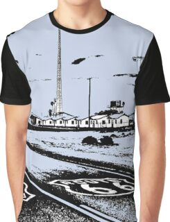 Route 66 Amboy CA Graphic T-Shirt