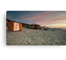 Beach Bar Canvas Print