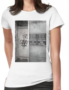 Ours Womens Fitted T-Shirt