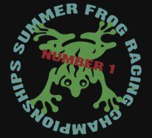 Frog Racing by Zehda
