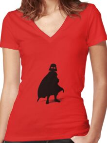 Marth Vader Women's Fitted V-Neck T-Shirt