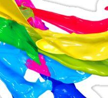 Cascade of Colors Sticker