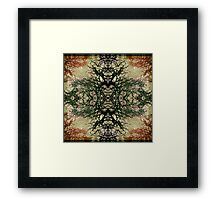 Winter Colors Collage Framed Print
