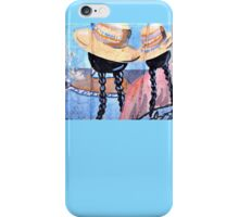 Two Ladies by the River iPhone Case/Skin