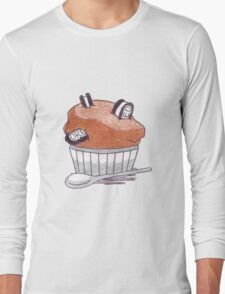 Cupcake Oreo  Long Sleeve T-Shirt