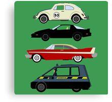 The Car's The Star: Living Cars Canvas Print