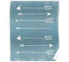 Rustic Modern Arrows Poster