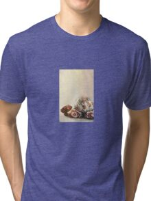 Happy Easter: Roses And Bokeh Tri-blend T-Shirt