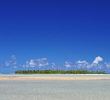 Island in the South Pacific by jcimagery