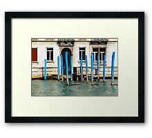 All About Italy. Venice 9 Framed Print