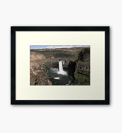 Palouse Falls, Eastern Washington State Framed Print