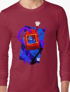 Vacuum robot robot Long Sleeve T-Shirt