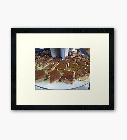 Chocolate Fudge Framed Print
