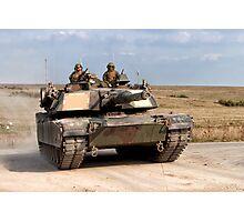 M1A1 Abrams Main Battle Tank Photographic Print