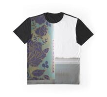 Open Kimono in the Bathroom Graphic T-Shirt