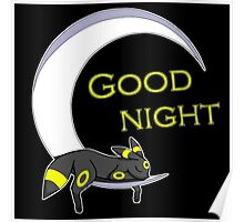 Good Night, Moonlight Pokemon Poster