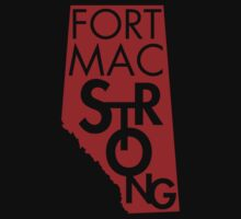 Fort Mac Strong One Piece - Short Sleeve