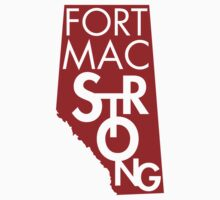 Fort Mac Strong Kids Tee