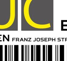 Destination Munich Airport Sticker