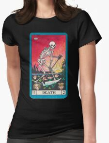 Tarot Card - Death Womens Fitted T-Shirt