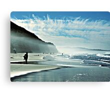 Another Beautiful Day at the Beach Canvas Print