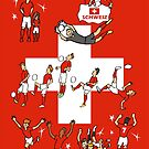 World Cup Switzerland 2014  by colortown