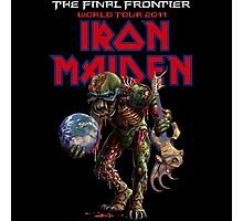 IRON MAIDEN FINAL FRONTIER 2011 Photographic Print